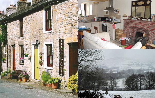 Millthrop Cottage a cosy cottage in the Yorkshire Dales for all seasons