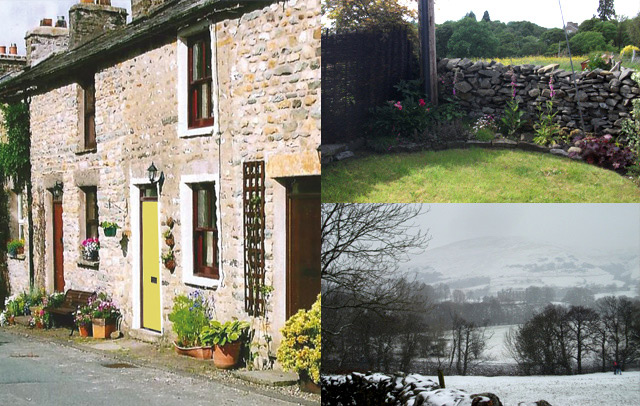 Millthrop Cottage with dog and child friendly garden in the Yorkshire Dales